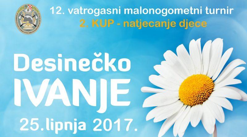 Desinečko ivanje 2017- Plakat