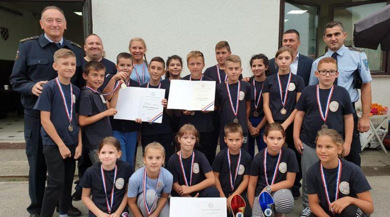 Izvrsni rezultati naše ekipe djece na gradskom vatrogasnom natjecanju u Volavju