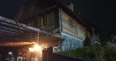 Požar kamina i električnih instalacija u Stankovu