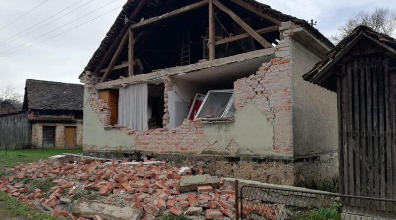 Naši članovi Andrija Novosel i Kristijan Strahija upućeni u potresom pogođeno područje!