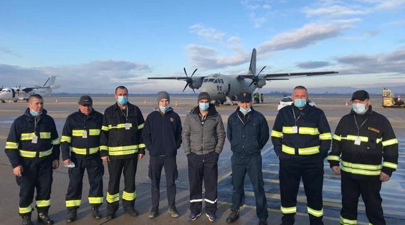 Vatrogasci upućeni u zračnu luku Dr. Franjo Tuđman na istovar