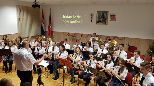 Božićni koncert u Petrovini(22.12.2018.)