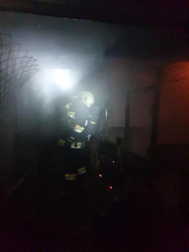 Požar gospodarskog objekta-Mirna ulica-9