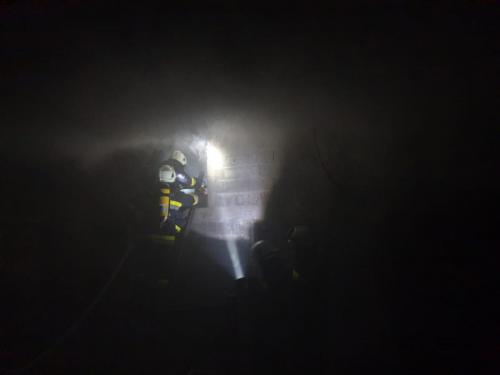 Požar gospodarskog objekta-Mirna ulica-6