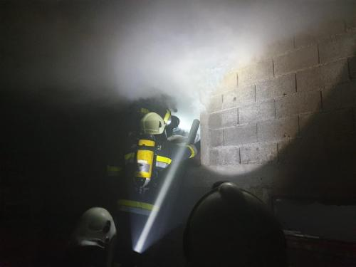 Požar gospodarskog objekta-Mirna ulica-5