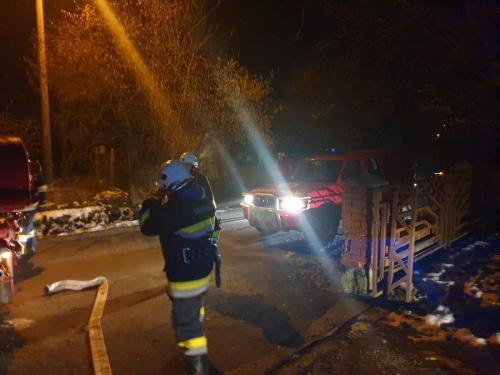 Požar gospodarskog objekta-Mirna ulica-4