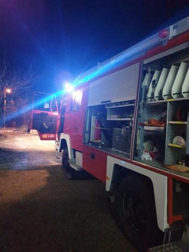 Požar gospodarskog objekta-Mirna ulica-1