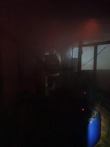 Požar gospodarskog objekta-Mirna ulica-8